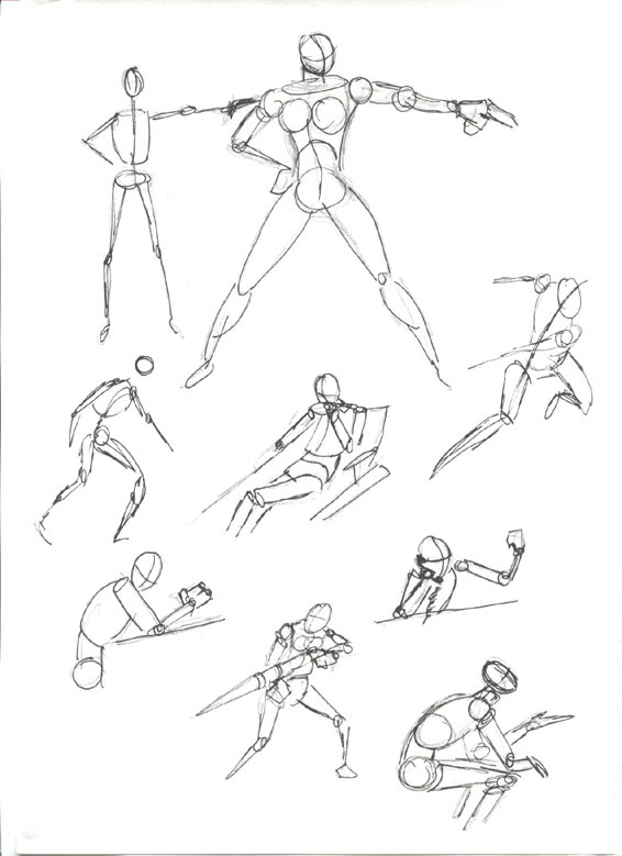 Line Drawing Human Body : Pinkmeister s mini art course drawing the human figure